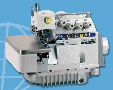 OV 614 series, 2 -naalds overlockmachines